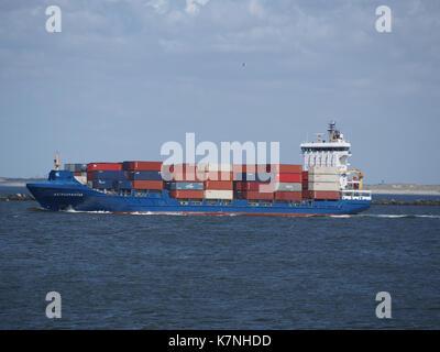 Astrosprinter (ship, 2007) IMO 9349215 Maasmond, Port of Rotterdam photo 2 - Stock Photo
