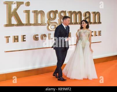 'Kingsman: The Golden Circle' World Premiere - Stock Photo