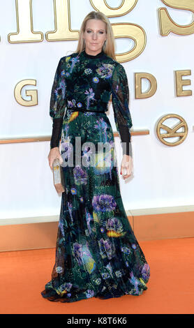 Photo Must Be Credited ©Alpha Press 078237 18/09/2017  Alice Naylor Leyland  at the Kingsman The Golden Circle World - Stock Photo