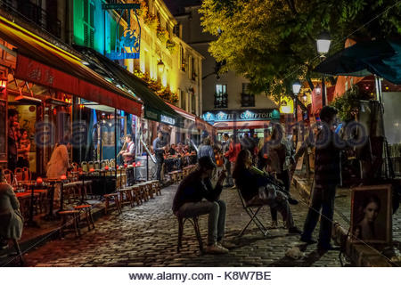 PICTURE OF PARIS AND ITS DISTRICT - Stock Photo