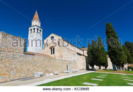 the historic basilica in aquileia friuli venezia giulia. Black Bedroom Furniture Sets. Home Design Ideas
