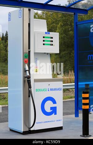 Compressed Natural Gas Filling Station Pressure