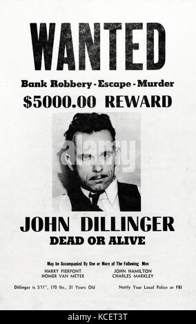 a biography of john dillinger an infamous bank robber in the united states He was an american bank robber of german descent in depression-era united states of a january 1934 bank robbery by john dillinger infamous american.