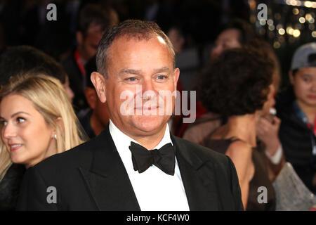 London, UK. 4th Oct, 2017. Hugh Bonneville, Breathe - BFI LFF Opening Night Gala, Leicester Square, London, UK. - Stock Photo