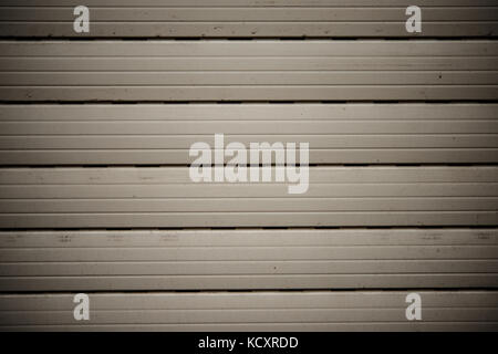 Rolling shutter closed background backdrop texture - Stock Photo
