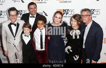 NEW YORK-OCT 07: The cast of 'Wonderstruck' attends the premiere at the 55th New York Film Festival at Alice Tully - Stock Photo