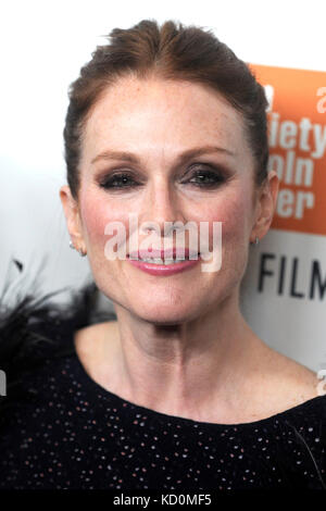 Julianne Moore attends the 'Wonderstruck' premiere during the 55th New York Film Festival at Alice Tully Hall on - Stock Photo