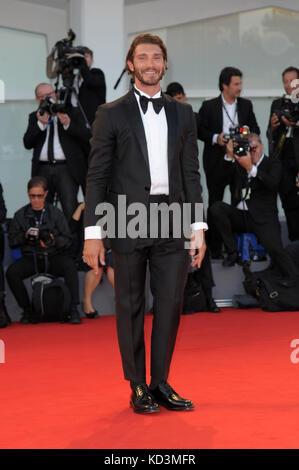 42nd Toronto International Film Festival - 'La Fidele' - Premiere  Featuring: Stefano De Martino Where: Venice, - Stock Photo