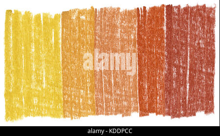 Abstract crayon background isolated on white, made myself - Stock Photo