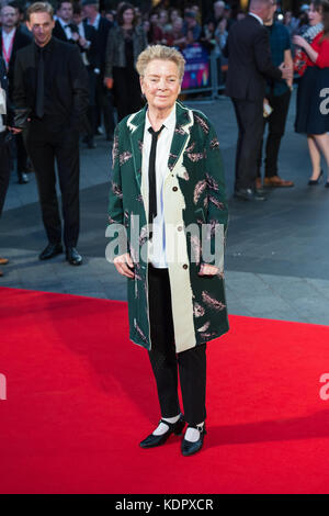 London, UK. 15th October 2017. Sandy Martin arrives for the UK film premiere of 'Three Billboards Outside Ebbing, - Stock Photo