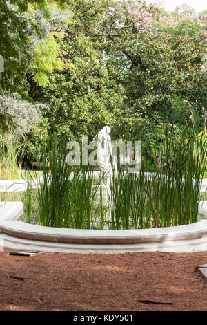 Fountain Palermo Neighborhood Buenos Aires A Soft Filter Was Stock Photo 52361490 Alamy