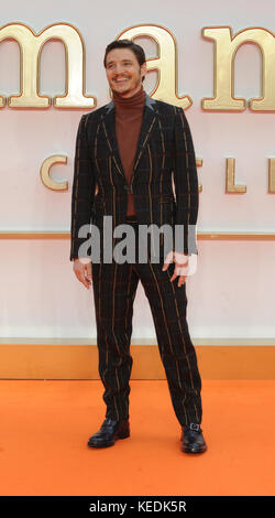 World Premiere of 'Kingsman: The Golden Circle' - Arrivals  Featuring: Pedro Pascal Where: London, United Kingdom - Stock Photo