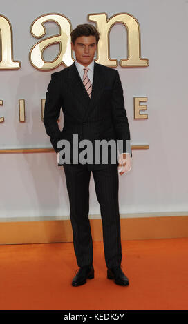 World Premiere of 'Kingsman: The Golden Circle' - Arrivals  Featuring: Oliver Cheshire Where: London, United Kingdom - Stock Photo
