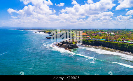 Tanah Lot - Temple in the Ocean. Bali, Indonesia. - Stock Photo