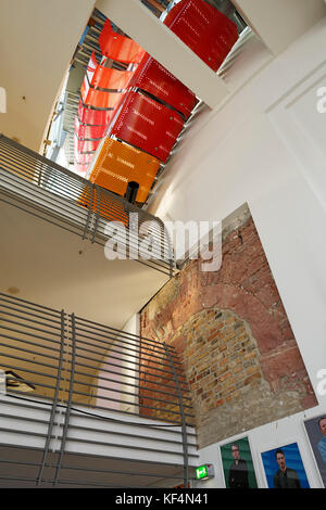 interior stair at the entrance of the old state capitol building at stock photo royalty free. Black Bedroom Furniture Sets. Home Design Ideas