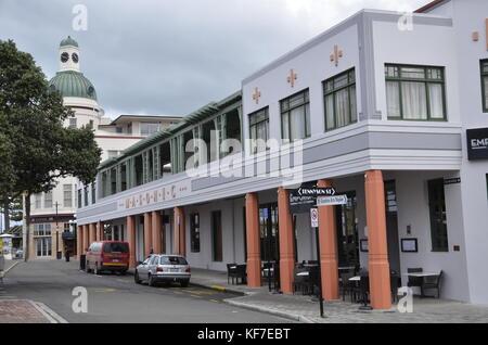 Masonic hotel in art deco style napier north island new for Deco hotel napier