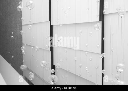 Bubbles and lines - Stock Photo