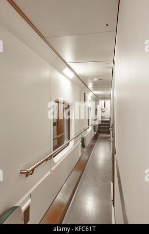 Interior Of Sleeper Train Nobody Stock Photo Royalty