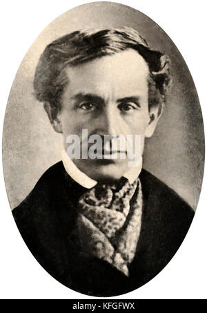 Samuel Finley Breese Morse, American painter and inventor - Stock Photo