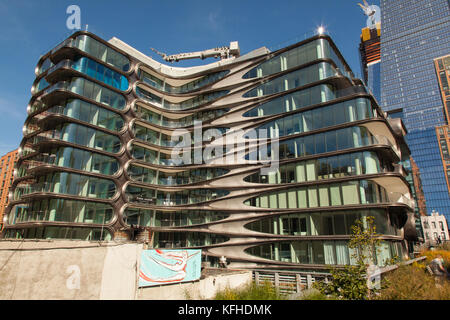 Attractive ... Zaha Hadid Designed Condo Apartments, The High Line, Chelsea, New York  City,