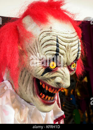 Hallowenn mask - London, England - Stock Photo
