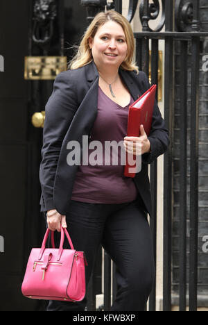 London, UK. 31st October, 2017. Karen Bradley MP Secretary of State for Digital, Culture, Media and Sport attends - Stock Photo