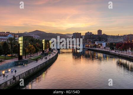 Guggenheim Museum Bilbao - Stock Photo