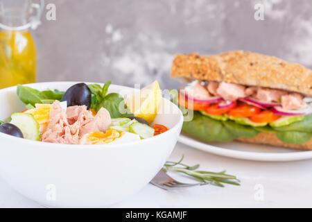 Tuna Salad Lunch Box Stock Photo, Royalty Free Image ...