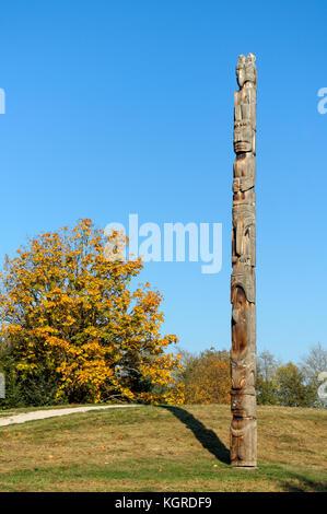 Totem Poles Vancouver Island
