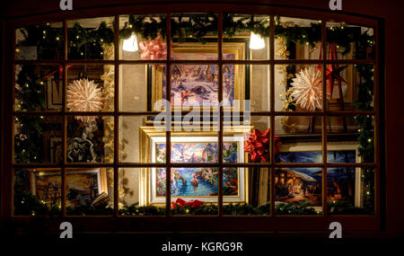 Holiday Paintings - Stock Photo