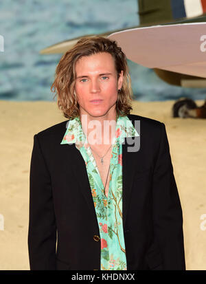 LONDON, ENGLAND - JULY 13: Dougie Poynter  attends the 'Dunkirk' World Premiere at Odeon Leicester Square on July - Stock Photo