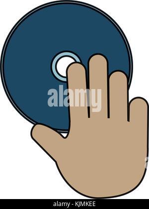 CD Rom icon - Stock Photo