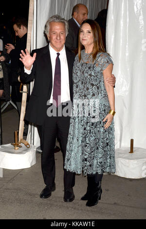 Dustin Hoffman and his wife Lisa attend the 27th Annual Gotham Independent Film Awards 2017 at Cipriani Wall Street - Stock Photo