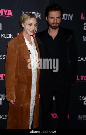 NEW YORK, NY - NOVEMBER 28: Nicky Hilton attends a screening of 'I, Tonya' at Village East Cinema on November 28, - Stock Photo