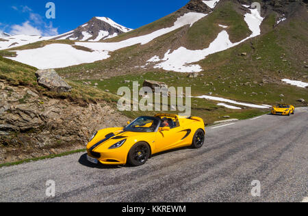 pass road col du galibier route des grandes alpes french alps stock photo royalty free image. Black Bedroom Furniture Sets. Home Design Ideas