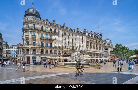 France, Hérault department, Montpellier, - Stock Photo