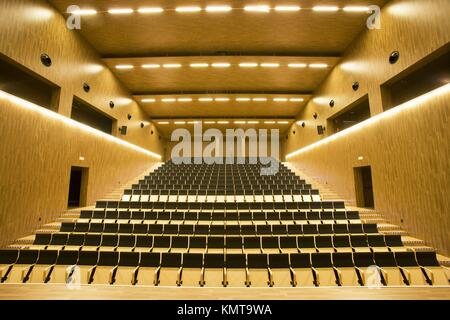 Juan Crisostomo de Arriaga music conservatory, Sarriko, Bilbao. Biscay, Basque Country, Spain - Stock Photo