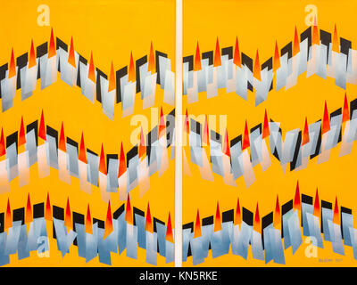Abstract artwork by Ed Buziak - Stock Photo