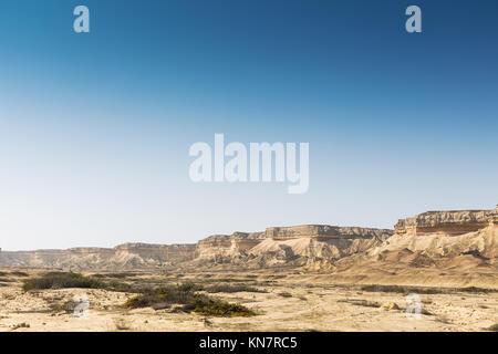 Canyons in the Namibe Desert. Angola. Africa. - Stock Photo