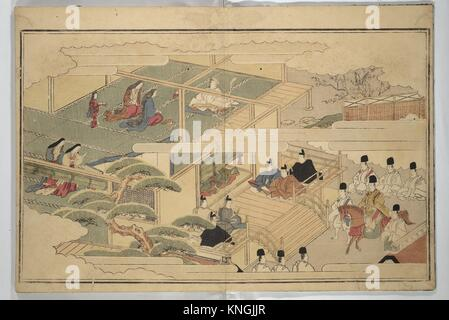 The Young God Ebisu (Waka ebisu). Artist: Kitagawa Utamaro (Japanese, 1753?-1806); Period: Edo period (1615-1868); - Stock Photo