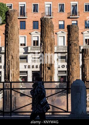 Area Sacra di Largo Argentina, Rome, Italy - Stock Photo