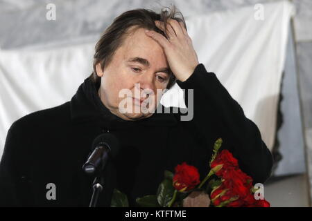 Moscow, Russia. 25th Dec, 2017. The general director of the Pervy Kanal (Channel One) TV channel, Konstantin Ernst - Stock Photo