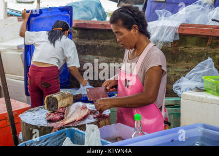 Sea gypsy village at rawai phuket stock photo 28203012 for Village fish market