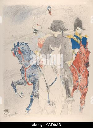Napoleon, by Henri de Toulouse-Lautrec, 1895, French Post-Impressionist print. This lithograph is based on a drawing - Stock Photo