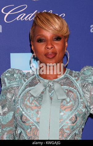 Palm Springs, California, USA. 2nd Jan, 2018. Mary J Blige at arrivals for 29th Annual Palm Springs International - Stock Photo