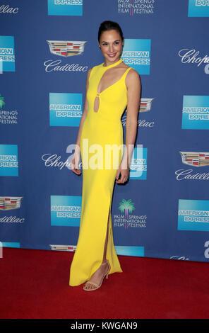 Palm Springs, Ca. 2nd Jan, 2018. Gal Gadot, at 29th Annual Palm Springs International Film Festival Awards Gala - Stock Photo