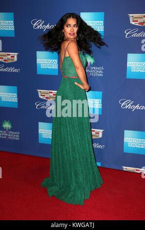 Palm Springs, Ca. 2nd Jan, 2018. Salma Hayek, at 29th Annual Palm Springs International Film Festival Awards Gala - Stock Photo