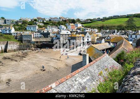 Port Isaac North Cornwall England Uk Stock Photo