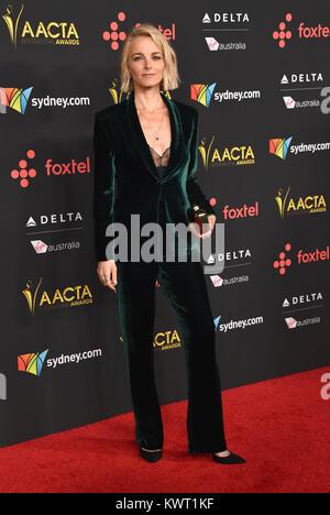 Hollywood, California, USA. 5th Jan, 2018. Bojana Novakovic arrives for the AACTA International Awards at Avalon - Stock Photo
