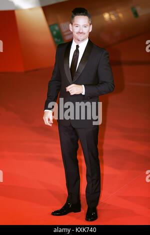 ROME, ITALY - OCTOBER 26: Scott Cooper walks a red carpet for Hostiles during the 12th Rome Film Fest at Auditorium - Stock Photo